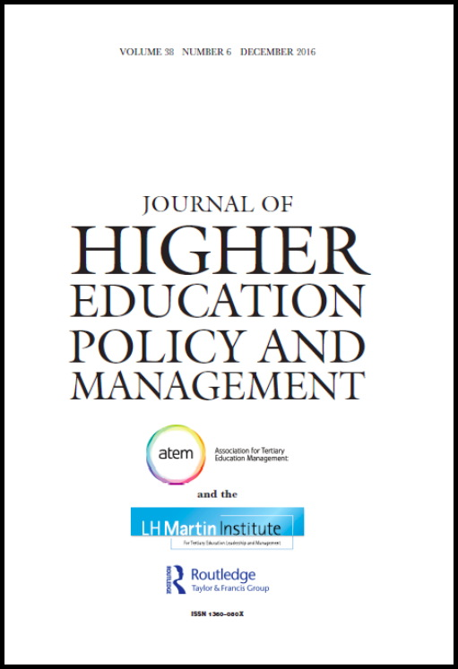 Journal of Higher Education Policy and Management - ATEM